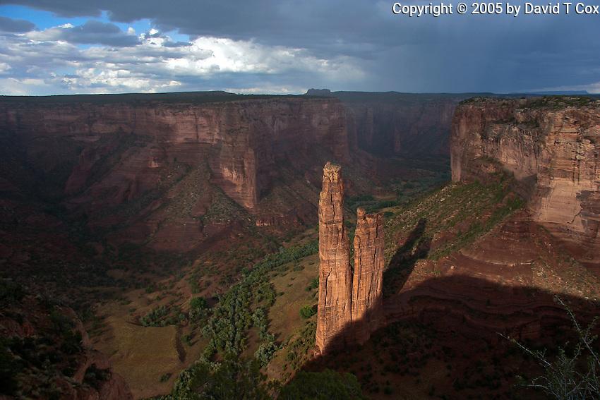 Spider Rock, Canyon De Chelly, AZ