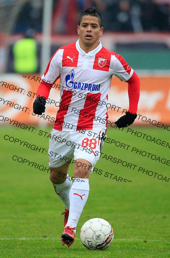 Fudbal Jelen Super League season 2015-2016<br /> Crvena Zvezda v Vozdovac<br /> Luis Ibanez<br /> Beograd, 28.11.2015.<br /> foto: Srdjan Stevanovic/Starsportphoto&copy;