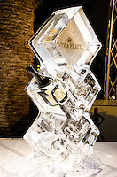 Antica Fratta ice luge at 2013 Hearts & Stars Gala at Tierra Veritatis, Miami Beach, FL, March 9, 2013
