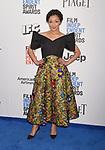 SANTA MONICA, CA - FEBRUARY 25: Actress Ruth Negga attends the 2017 Film Independent Spirit Awards at the Santa Monica Pier on February 25, 2017 in Santa Monica, California.