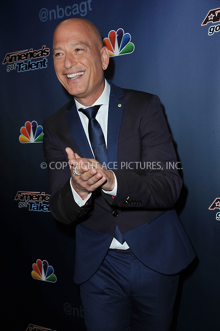 WWW.ACEPIXS.COM<br /> September 4, 2014 New York City<br /> <br /> Howie Mandel attending the 'America's Got Talent' post show red carpet at Radio City Music Hall in New York City on September 4, 2014.<br /> <br /> By Line: Kristin Callahan/ACE Pictures<br /> ACE Pictures, Inc.<br /> tel: 646 769 0430<br /> Email: info@acepixs.com<br /> www.acepixs.com<br /> Copyright:<br /> Kristin Callahan/ACE Pictures