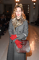 Charlotte Dellal<br /> at the Jasper Conran AW17 show as part of London Fashion Week AW17 at Claridges,, London.<br /> <br /> <br /> &copy;Ash Knotek  D3230  17/02/2017