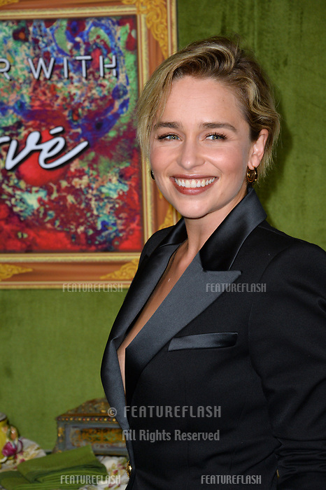 LOS ANGELES, CA. October 04, 2018: Emilia Clarke at the Los Angeles premiere for &quot;My Dinner With Herve&quot; at Paramount Studios.<br /> Picture: Paul Smith/Featureflash