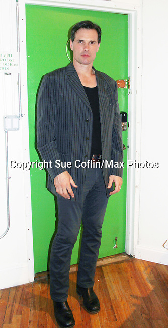 """As The World Turns' Austin Peck at """"The F"""" - a Benefit for the film was held on June 22, 2018 at the Freeman Studio, New York City, New York. (Photo by Sue Coflin/Max Photo)"""