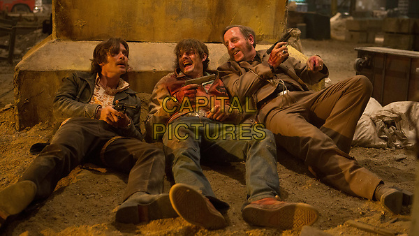 Free Fire (2016) <br /> Cillian Murphy, Sam Riley &amp; Michael Smiley<br /> *Filmstill - Editorial Use Only*<br /> FSN-K<br /> Image supplied by FilmStills.net
