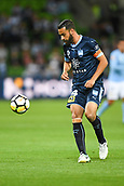 3rd November 2017, Melbourne Rectangular Stadium, Melbourne, Australia; A-League football, Melbourne City FC versus Sydney FC; Alex Brosque of Sydney FC looks towards the ball