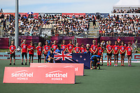 Pro League Hockey, Vantage Blacksticks Men v Argentina. North Harbour Hockey Stadium, Auckland, New Zealand. Sunday 10 March 2019. Photo: Simon Watts/Hockey NZ
