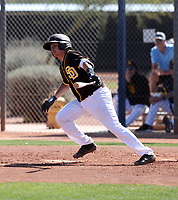 Gilbert Vizcarra - San Diego Padres 2020 spring training (Bill Mitchell)