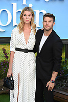 "Hannah Cooper and Joel Dommett<br /> arriving for the ""Christopher Robin"" premiere at the BFI Southbank, London<br /> <br /> ©Ash Knotek  D3416  05/08/2018"