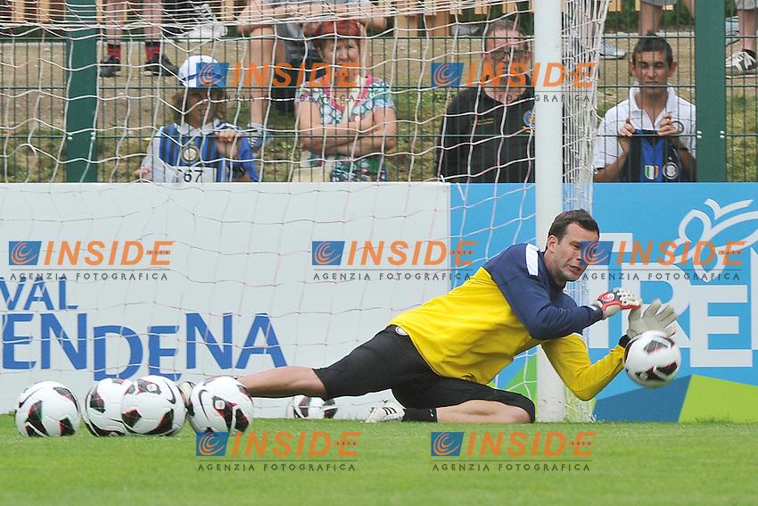 .Pinzolo (TN) 10/07/2012 Campo sportivo La Pineta .Football Calcio 2012/2013 Amichevole.Foto Insidefoto Christian Mantuano