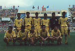 Malaysia vs Singapore during their Tiger Cup 1998 Group B match at Hanoi Stadium on 26 August 1998, in Hanoi, Vietnam. Photo by Stringer / Lagardere Sports