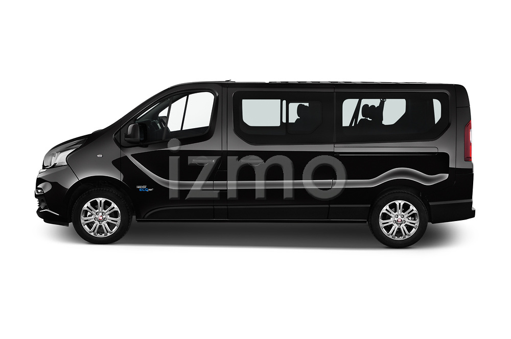 Car Driver side profile view of a 2018 Fiat Talento-Combi Panorama Door Passenger Van Side View