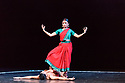"""23.11.2018. In its second year at Sadler's Wells, Darbar Festival welcomes some of the most exciting names in classical Indian dance, curated by Sadler's Wells Associate Artist Akram Khan. In the first performance of the festival, Renjith Babu and Neha Mondal Chakravarty present """"An Evening of Bharatanatyam"""" by the bharatanatyam and contemporary artist Mavin Khoo. The second evening of the programme, """"Adventures in Odissi and Kathak"""", combines two classical Indian dance forms in solo performances by Sujata Mohapatra and Gauri Diwakar.<br /> Winner of the 2017 Sangeet Natak Akademi award for outstanding contribution to odissi, Sujata Mohapatra performs work that treads the line between odissi dance and theatre. Multi award-winning kathak dancer Gauri Diwakar performs Hari Ho...Gati Meri (""""Let my salvation be in the supreme""""), a solo choreographed by Aditi Mangaldas.<br /> <br /> Pictured: Renjith Babu and Neha Mondal Chakravarty in """"An Evening of Bharatanatyam"""" by the bharatanatyam and contemporary artist, Mavin Khoo.<br /> <br /> Photograph © Jane Hobson."""