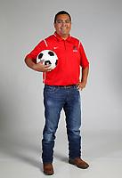 NWA Democrat-Gazette/DAVID GOTTSCHALK  AN SOC-NORTH MACIEL — Mauricio Maciel of Fort Smith Northside Coach of the Year photographed Thursday, May 24, 2018, in Springdale.