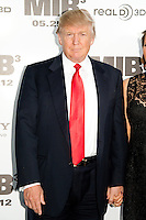 Donald Trump at the Men In Black 3 premiere at The Ziegfeld Theater in New York City. May 23, 2012. © Kristin Driscoll/MediaPunch Inc.