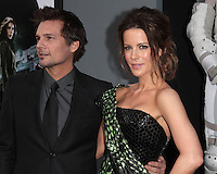 HOLLYWOOD, CA - AUGUST 01: Kate Beckinsale and Len Wiseman at the premiere of Columbia Pictures' 'Total Recall' held at Grauman's Chinese Theatre on August 1, 2012 in Hollywood, California Credit: mpi21/MediaPunch Inc. /NortePhoto.com<br />