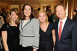 From left: Aynsley Letcerich, Kelly Cliburn, Genna Evans and Jon Evans at the 15th Annual Celebration of Families Luncheon benefitting Family Services of Greater Houston at the River Oaks Country Club Tuesday Feb. 02,2010. (Dave Rossman Photo)