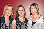 Laying foundations for a great night at the Construction Industry Federation ball in the Malton Hotel on Friday night were l-r: Deirdre Buckley Killarney, Myra Breen Kilgarvan and Martina Cronin Fossa    Copyright Kerry's Eye 2008