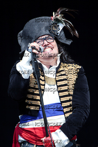 ADAM ANT performing live on Day Two on the Main Stage at Bestival 2012 on the Isle of Wight UK - 07 Sep 2012.  Photo credit: Derren Nugent/IconicPix
