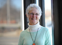 NWA Democrat-Gazette/ANDY SHUPE<br /> Deb King is a longtime volunteer for the NWA Children's Shelter. Wednesday, Dec. 16, 2015.