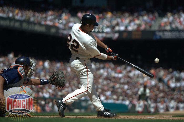 Baseball: Jose Cruz Jr. San Diego Padres vs San Francisco Giants. San Francisco, CA 4/7/2003 MANDATORY CREDIT: Brad Mangin