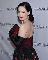 April 11, 2019 - Beverly Hills, California - Dita Von Teese. Los Angeles Ballet Gala 2019 held at The Beverly Hilton Hotel. <br /> CAP/ADM/BB<br /> ©BB/ADM/Capital Pictures