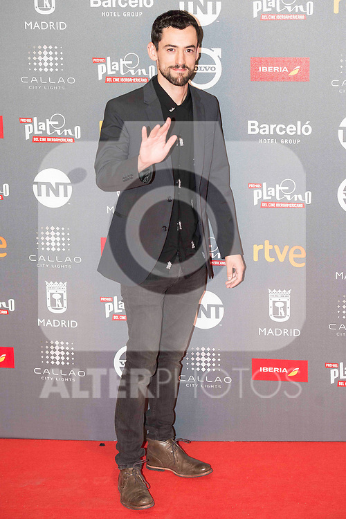 Luis Gerardo attends to welcome party photocall of Platino Awards 2017 at Callao Cinemas in Madrid, July 20, 2017. Spain.<br /> (ALTERPHOTOS/BorjaB.Hojas)