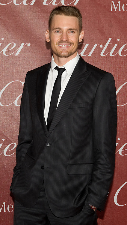 Josh Pence, as part of the cast of The Social Network, received the Ensemble Performance Award during the Palm Springs International Film Festival awards show at the Palm Springs Convention Center on Saturday.