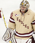 Brad Barone (BC - 29) - The Boston College Eagles defeated the visiting University of Vermont Catamounts to sweep their quarterfinal matchup on Saturday, March 16, 2013, at Kelley Rink in Conte Forum in Chestnut Hill, Massachusetts.
