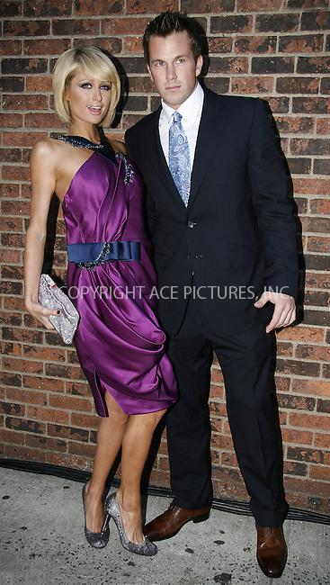 WWW.ACEPIXS.COM . . . . .  ....May 27 2009, New York city....(L-R) Paris Hilton and Doug Reinhardt at the 37th Annual Fifi Awards at The Armory on May 27, 2009 in New York City.....Please byline: NANCY RIVERA- ACE PICTURES.... *** ***..Ace Pictures, Inc:  ..tel: (212) 243 8787 or (646) 769 0430..e-mail: info@acepixs.com..web: http://www.acepixs.com