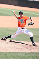 Tyler Waldron, Oregon State Beavers, pitching against the Arizona State Sun Devils at Packard Stadium, Tempe, AZ - 05/23/2010.Photo by:  Bill Mitchell/Four Seam Images.