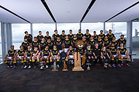 The 2019 Wellington Lions Mitre 10 Cup rugby team photo at Westpac Stadium in Wellington, New Zealand on Friday, 11 October 2019. Photo: Dave Lintott / lintottphoto.co.nz
