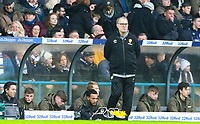 Leeds United manager Marcelo Bielsa watches on<br /> <br /> Photographer Alex Dodd/CameraSport<br /> <br /> The EFL Sky Bet Championship - Leeds United v Blackburn Rovers - Wednesday 26th December 2018 - Elland Road - Leeds<br /> <br /> World Copyright &copy; 2018 CameraSport. All rights reserved. 43 Linden Ave. Countesthorpe. Leicester. England. LE8 5PG - Tel: +44 (0) 116 277 4147 - admin@camerasport.com - www.camerasport.com