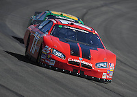Oct. 10, 2009; Fontana, CA, USA; NASCAR Nationwide Series driver Derrike Cope during the Copart 300 at Auto Club Speedway. Mandatory Credit: Mark J. Rebilas-