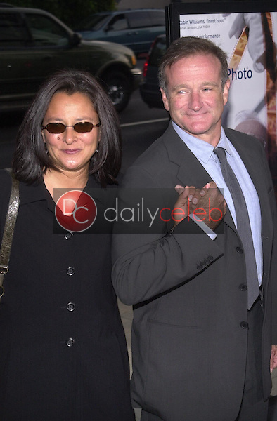 Robin Williams and wife Marsha