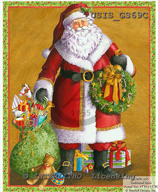 Ingrid, CHRISTMAS SANTA, SNOWMAN, WEIHNACHTSMÄNNER, SCHNEEMÄNNER, PAPÁ NOEL, MUÑECOS DE NIEVE, paintings+++++,USISGS69C,#X# vintage