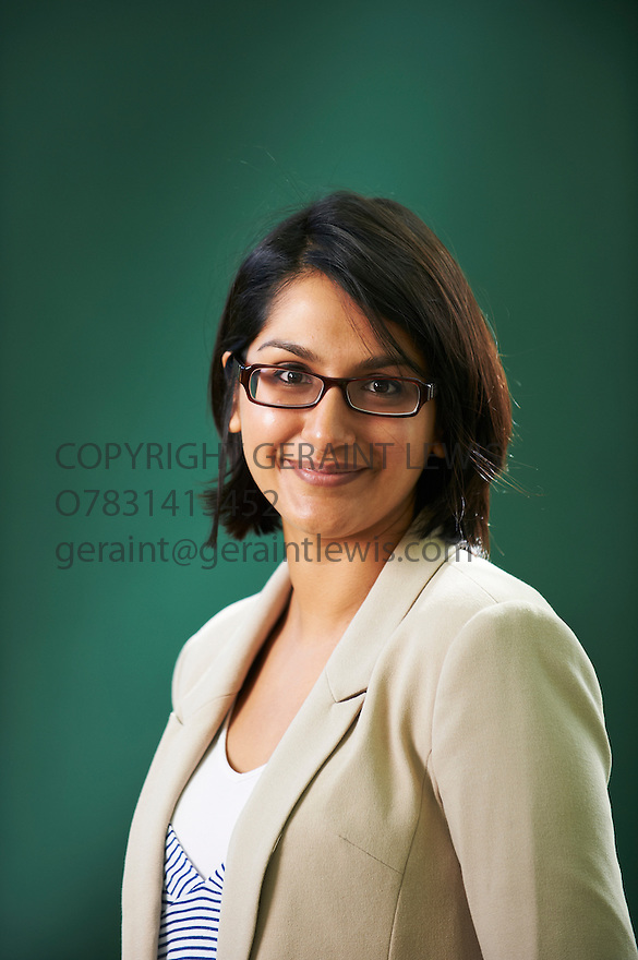 Angela Saini, writer of The Greek Nation  at The Edinburgh International Book Festival 2011.  Credit Geraint Lewis