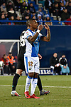 Leganes Claudio Beauvue fail vs Real Madrid during Copa del Rey  match. A quarter of final go. 20180118.