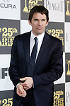US actor Ethan Hawke arrives at the 25th Independent Spirit Awards held at the Nokia Theater in Los Angeles on March 5, 2010. The Independent Spirit Awards is a celebration honoring films made by filmmakers who embody independence and originality..Photo by Nina Prommer/Milestone Photo