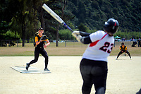 Wellington v Auckland men. 2020 National Fastpitch softball Championships at Fraser Park in Lower Hutt, New Zealand on Saturday, 15 February 2020. Photo: Dave Lintott / lintottphoto.co.nz