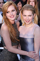 """WESTWOOD, LOS ANGELES, CA, USA - MARCH 18: Bella Thorne, Claudia Lee at the World Premiere Of Summit Entertainment's """"Divergent"""" held at the Regency Bruin Theatre on March 18, 2014 in Westwood, Los Angeles, California, United States. (Photo by David Acosta/Celebrity Monitor)"""