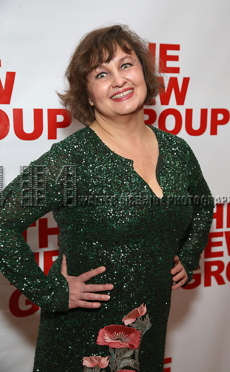 """Jennifer Allen attends the Off-Broadway Opening Night Premiere of  """"Jerry Springer-The Opera"""" on February 22, 2018 at the Green Fig Urban Eatery in New York City."""