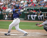 Texas Rangers OF Brandon Boggs against the Seattle Mariners on May 14th, 2008 at Texas Rangers Ball Park in Arlington, Texas. Photo by Andrew Woolley .