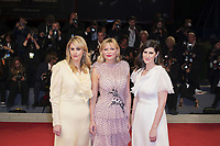 VENICE, ITALY - September 4th: Kirsten Dunst  and sisters Kate Mulleavy and Laura Mulleavy attend the red carpet during 74th Venice Film Festival at Palazzo Del Cinema on September 4th, 2017 in Venice, Italy. (Mark Cape/insidefoto)