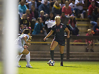 STANFORD, CA - August 24, 2018: Civana Kuhlmann at Laird Q. Cagan Stadium. The Stanford Cardinal defeated the USF Dons 5-1.