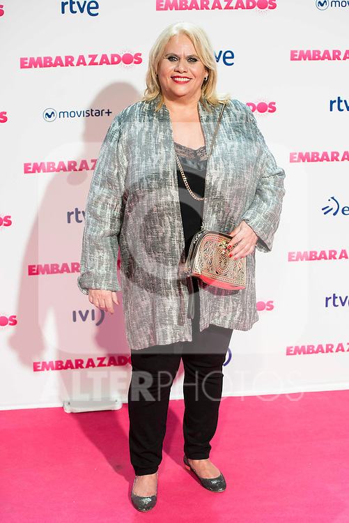 Carmina Barrios attends to the premiere of the film &quot;Embarazados&quot; at Capitol Cinemas in Madrid, January 27, 2016.<br /> (ALTERPHOTOS/BorjaB.Hojas)