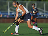 Shannon Bernhardt #21 moves the ball downfield during the first half of a Nassau County Conference I varsity field hockey match against Baldwin at Field of Dreams Park in Massapequa on Monday, Sept. 26, 2016. She tallied three assists in Massapequa's 5-0 win.