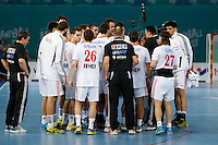 19.01.2013 World Championshio Handball. Match between Spain vs Croatia (25-27) at the stadium La Caja Magica. The picture show Croatia team