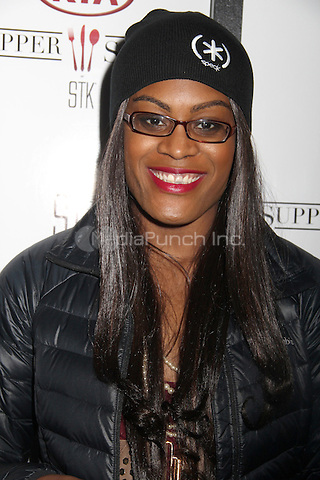PARK CITY, UT - JANUARY 24: Mya Taylor at The Overnight and Tangerine & Animals  cast party hosted by Kia Supper Suite By STK during The 2015 Sundance Film Festival at Handle Restaurant and Bar in Park City, Utah on January 24, 2015. Credit: David Edwards/DailyCeleb/MediaPunch