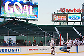 Ryan Wischow (UMass - 1), Steven Iacobellis (UMass - 16) - The Boston University Terriers defeated the University of Massachusetts Minutemen 5-3 on Sunday, January 8, 2017, at Fenway Park in Boston, Massachusetts.The Boston University Terriers defeated the University of Massachusetts Minutemen 5-3 on Sunday, January 8, 2017, at Fenway Park.